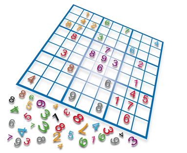 Farbiges Sudoku
